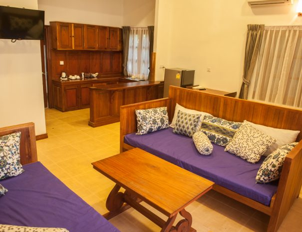 Family room Eureka Villas Siem Reap (1)